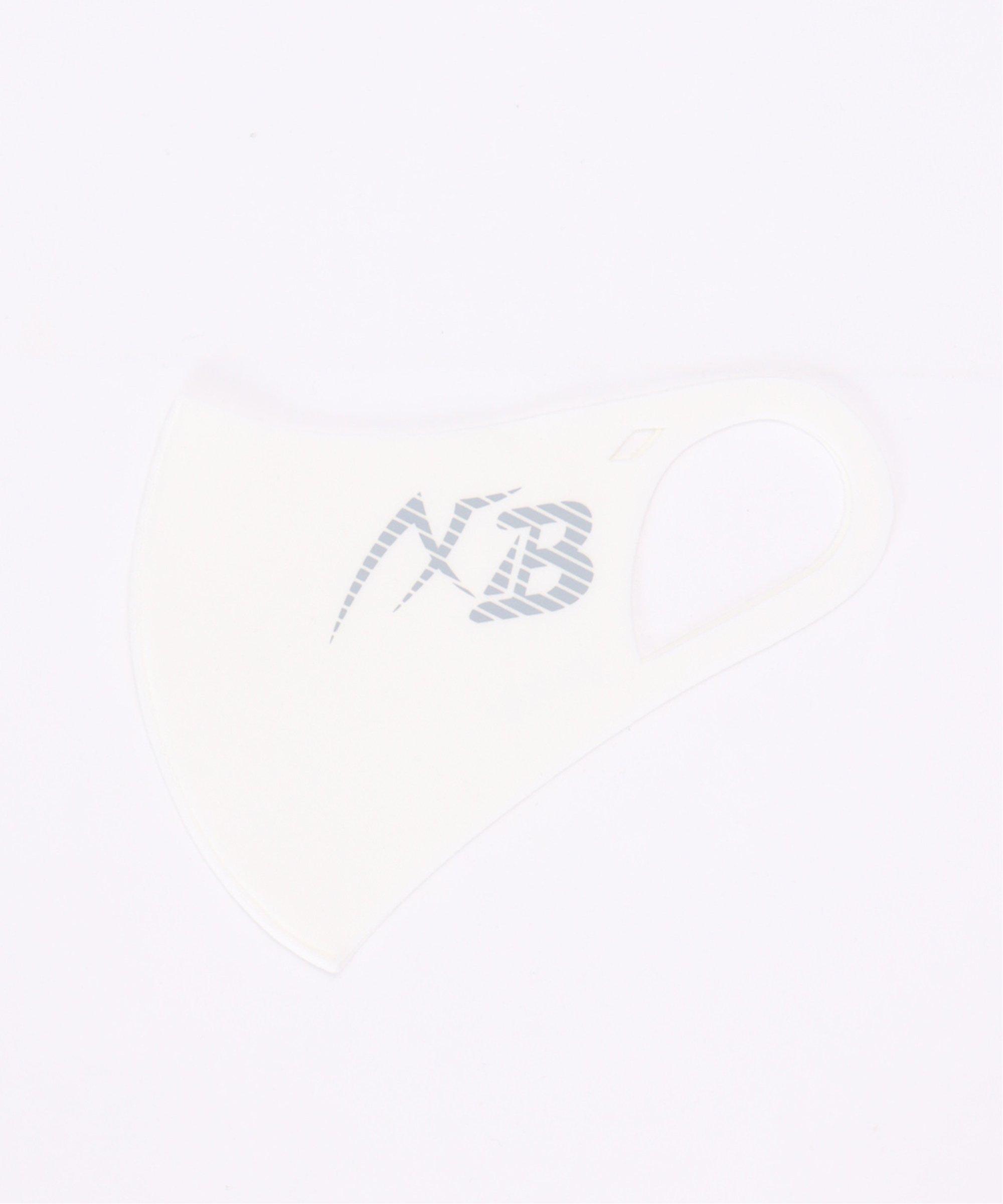 【おとな用】AXF マスク ムジ ビッXBロゴ ホワイト